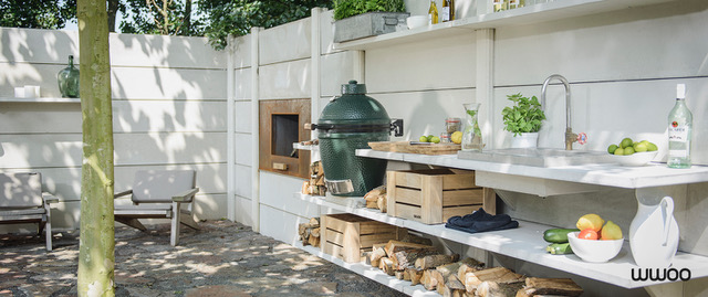 Outdoor Kitchens bij green egg